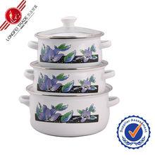 Hot-selling cheap porcelain enamel cookware