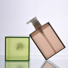Wholesale clear french square glass perfume bottle with cork 50-100ML