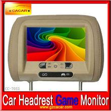 fabrika çıkış fiyatı 7 inç kafalık araba monitör dijital ekran arka koltuklar görünür ekran