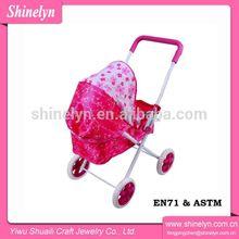 NO.808-11 china stroller factory wholesale bike carrier bag mini horse carriage stroller set