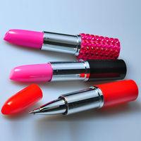 Lady Lipstick Ball Pen
