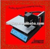 High quality of foil express digital hot foil printer on the flat card-ADL 3050A
