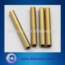 Precision brass thread tube