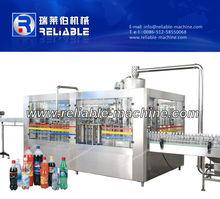 อัตโนมัติสายการผลิตน้ำอัดลม200- 2000ml/น้ำอัดลมเครื่องบรรจุ