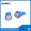 168 led T10 7leds LED t10 licence plate light 12V auto lamp