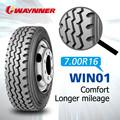 Venta al por mayor 7.50r16 neumáticos para camiones semi