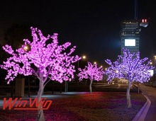 LED CHERRY TREES indoor and outdoor holiday decoration tree lighting