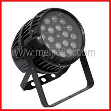 aluminum dmx waterproof rgbw 4in1 zoom guangzhou par lights