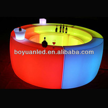 Led hd diseños de muebles de exterior/portátil led bar