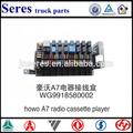wg9918580002 radio cassette howo a7 camiones partes