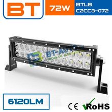 High Power 72W 6120LM LED Light Bar Cover