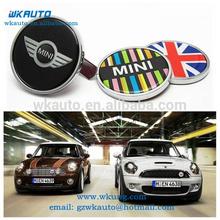 cool design zinc alloy metal mini cooper car grill emblems