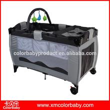 En71 europäischen stil tragbare falten baby-reisebett bp706a