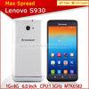 "Hot Buy Lenovo S930 6"" HD IPS Quad Core Unlocked Smartphone china brand name mobile phone"