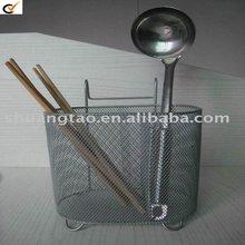 Metal fork spoon knife rack