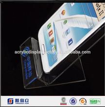 Acrylic Mobile Phone Holder , Acrylic Cellular Phone Seat Acrylic Mobile Display Stand