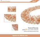 gemstone supplier Tanzania 14mm sunstone gem mine for sale