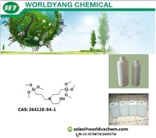 worldyang n-(hydroxyethyl)-n,n-bis(trimethoxysilylpropyl)amine;cas no264128-94-1;Colorless transparent liquid