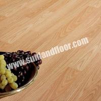 HF8044 Light oak two strips laminate floor