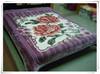 2014 new design polyester blanket raschel blanket