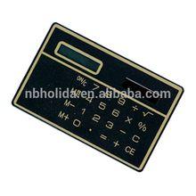 Flat calculator, cheap solar powered calculator/ HLD-807