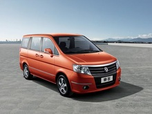 Dongfeng Succe Passenger Car MPV 7 seats Euro 4 with OBD