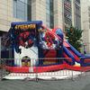 Amusement inflatable cartoon combo spiderman inflatable bouncer