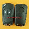 Opel astra clés coquille, clé de voiture opel, opel 2 bouton de la télécommande ébauche de clé
