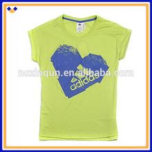 Alibaba china manufacturing brand sport short sleeve women's t shirt