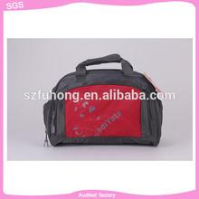 Alibaba simple design easy carry on useful outside luggage bag