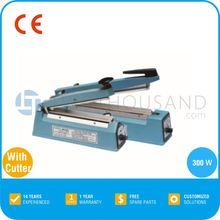 2014 Hot Sale Hand Impulse Sealer With Cutter - Length 200 mm, Width 2 mm, TT-ZSC17