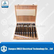 10 pcs (14.5mm-23mm) HSS MT2 & MT3 Morse Taper Shank Drill Set