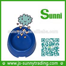 a basso prezzo sensore di alimentazione animale domestico pet ciotole in ceramica con materiale pp
