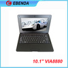 10 inch laptops on sale Android 4.2,VIA8880 CORTEX A9 1.5Ghz,512MB/1GB DDR3,4GB, Screen,Wifi,HDMI,mini computers