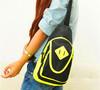 Fashion boys girls unisex sling bag custom canvas cross bag