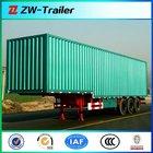 Dual Axles Van Cargo Box Truck