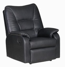 durable and comfortable recliner massage sofa/chienese factory supplier/PU+PVC