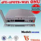 Triple-Play WIFI ONU Support IPTV / Set Top Box / Video Phone