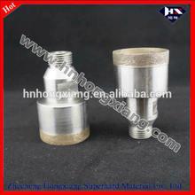 Diamond Glass Core Drilling Bit/glass dril bit-thread shank