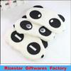panda-like furry eye mask for a good sleep