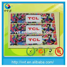 logo sticker / 3d hologram / custom hologram sticker