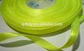 venta al por mayor de red de nylon reflectante de inelasticidad gruesa brillante de verde
