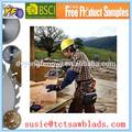 La exportación de hoja de sierra afilado de disco para la hoja de sierra circular para el corte de acero inoxidable/para madera/para corte de aluminio