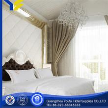 full bed manufacter stripe high quality tc bedding fabic