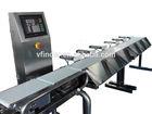 muti-head check weigher conveyor belt check weigher check weigh