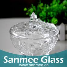 Wide Mouth Glass Storage Jars