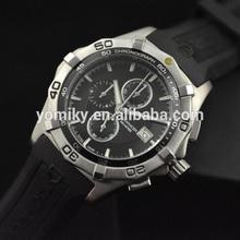 New style 3atm waterproof quartz movt watch,men wrist watch silicone