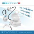 Coolipo V7 HOT cryolipolysis congelamento lipoaspiração eficaz rf ultra gordura eliminação