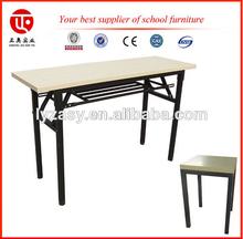 adjustable student desk and chair Folding School Desk