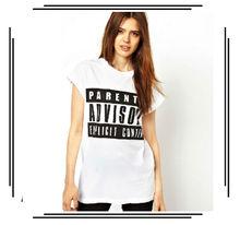 Print t shirt Top Tee T-shirt Women Fashion Apparel Woman Clothes Womens' T Shirts china